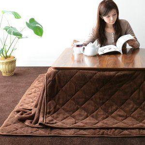 Amazon.co.jp: エムール マイクロファイバー こたつ布団セット ... こたつ掛け布団とこたつ敷き布団がセットになった、人気のセット!