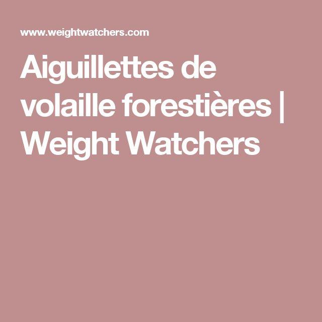 Aiguillettes de volaille forestières | Weight Watchers