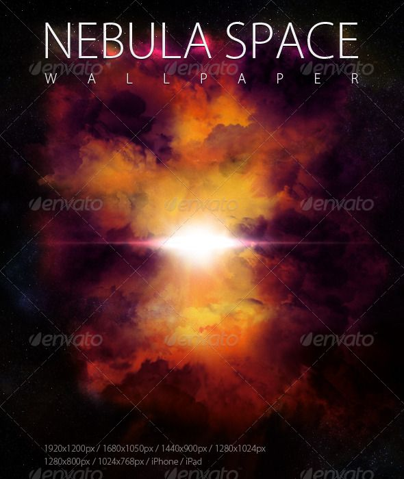 Nebula Wallpaper  #GraphicRiver         Nice Nebula Wallpaper, suitable for web or for desktop image.   Features:    6 different screen resolutions wallpapers  1920×1200, 1680×1050, 1440×900, 1280×1024, 1280×800, 1024×768  iPhone and iPad wallpapers       Created: 10March11 GraphicsFilesIncluded: JPGImage Layered: No MinimumAdobeCSVersion: CS PixelDimensions: 1920x1200 Tags: black #burst #dark #deepspace #fantasy #futuristic #galaxy #glow #nebula #orange #space #space #wallpaper #yellow