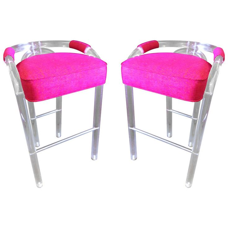 Hot Pink Bar Stools] 18 Brilliant Kitchen Bar Stools That Add A ..