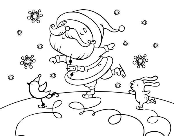 Mejores 97 imágenes de Dibujos de Navidad para colorear en Pinterest ...