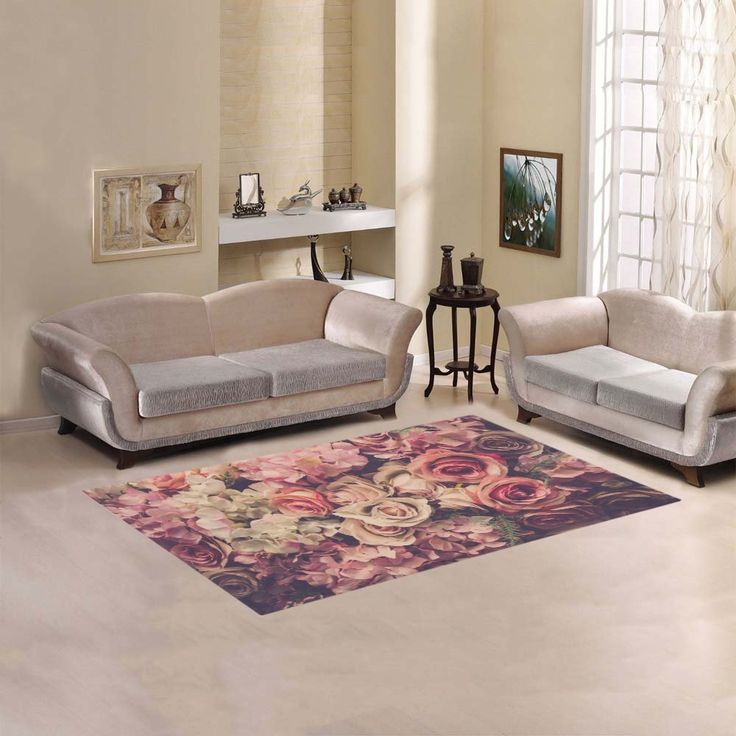 your-fantasia Sweet Home Modern Stores Area Rug Carpet Cover Home Decoration Pink Roses Background *** Want to know more, click on the image. (This is an affiliate link and I receive a commission for the sales)