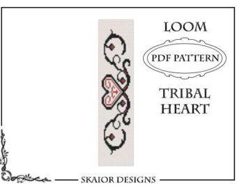 Loom Bead Pattern Bracelet Butterfly Bracelet Tribal