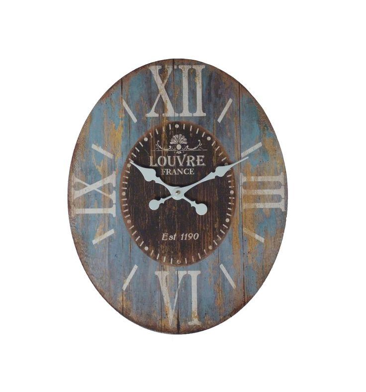 #reloj #pared #vintage #ohmicasa #decoración