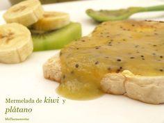 Mermelada de kiwi y plátano - MisThermorecetas