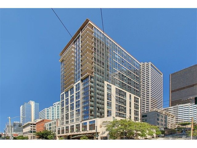 Experience world class luxury & convenience at Madison Tower, set atop 5-star Hotel 1000. Quintessential urban living & resort quality amenities: Room service, 24-hour concierge, valet parking, fitness, spa, virtual golf, & rooftop deck. This open & airy residence features high-end finishes, air conditioning, office space, guest bathroom, and master suite. Walk score 99: Stroll to Pike Market, Seattle Music Festival, restaurants, shops, theater & everything in downtown Seattle. No rental…
