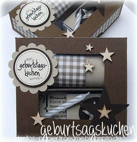 Was Süßes zum Geburtstag Mit Tassenkuchen Päckchen verschicken!!! :)