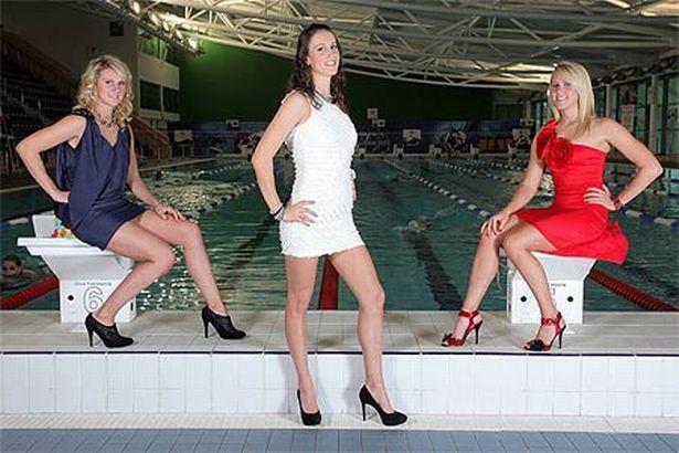 Wales' fittest sports stars - swimmers Jazz Carlin, Georgia Davies and Jemma Lowe
