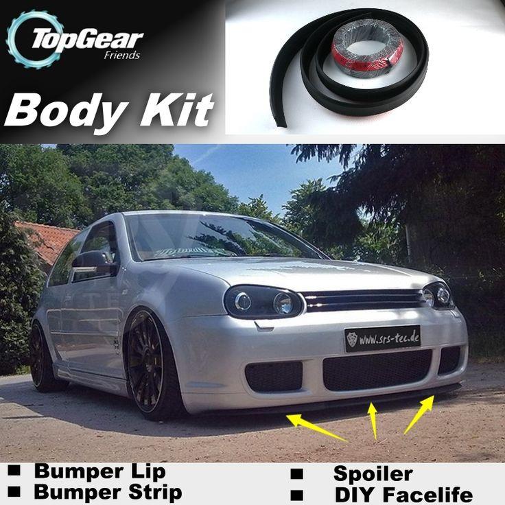 Bumper Lip Deflector Lips For Volkswagen VW Gol Parati Pointer Saveiro Voyage G2 G3 G4 G5 Spoiler Skirt / Body Kit / Strip