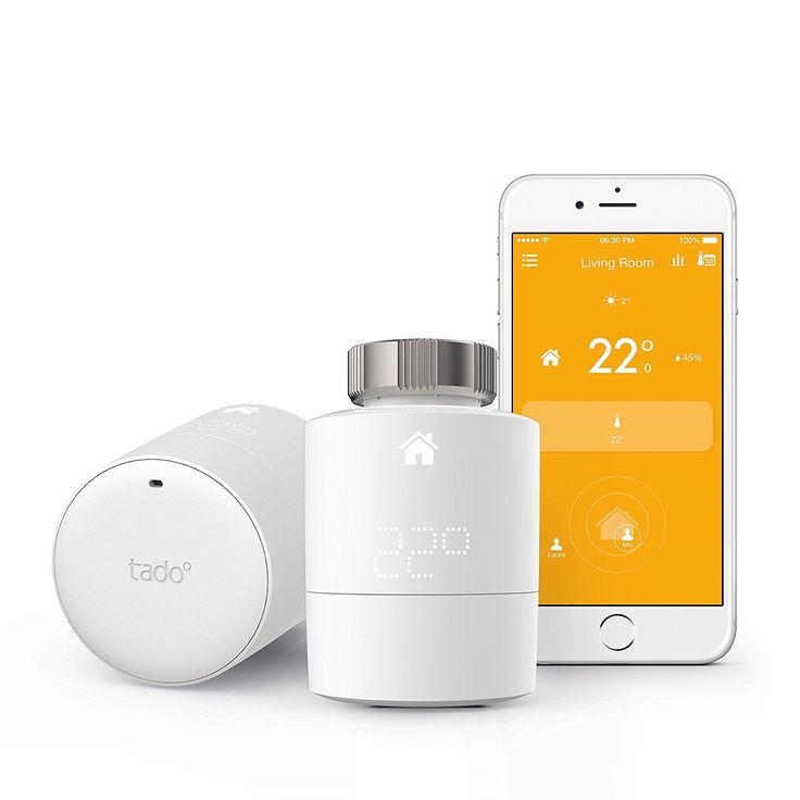 Tado° Smart Radiator Thermostat Starter Kit   Horizontal Mounting    Intelligent Heating Control With Geofencing