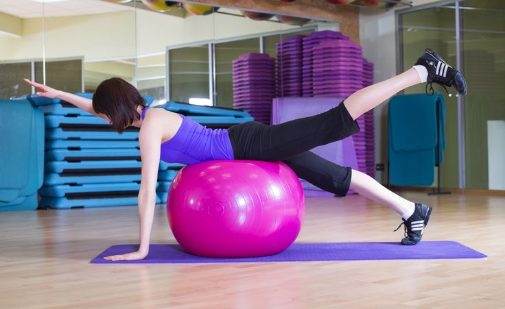 Opposite-Limb Extensions Back Exercise