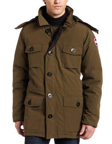 canada goose banff parka military green