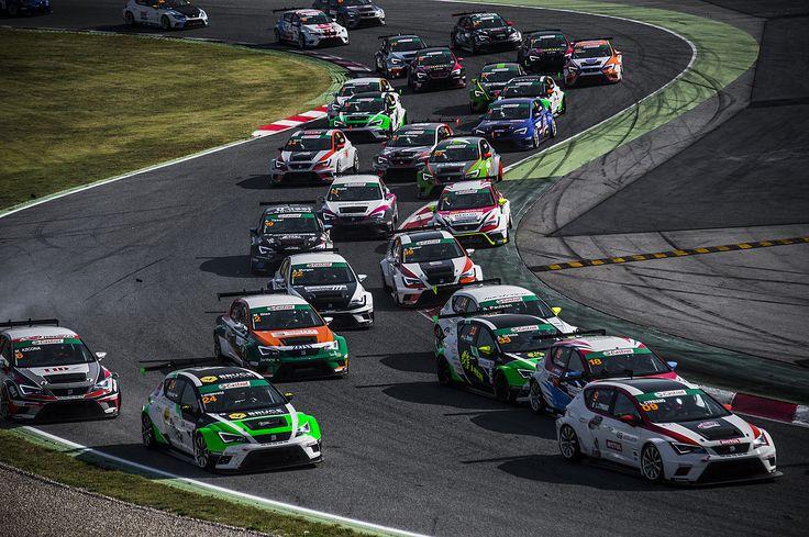 SEAT Leon Eurocup 2015. Barcelona. Race 2.