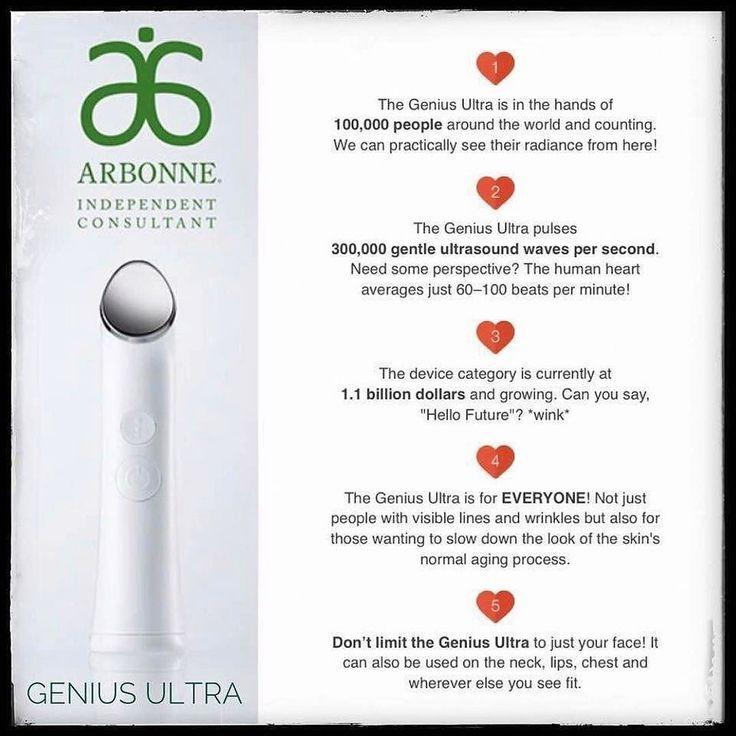 #nomorewrinkles #antiaging #ultrasound #geniusultra #skincare lacyhess.arbonne.com