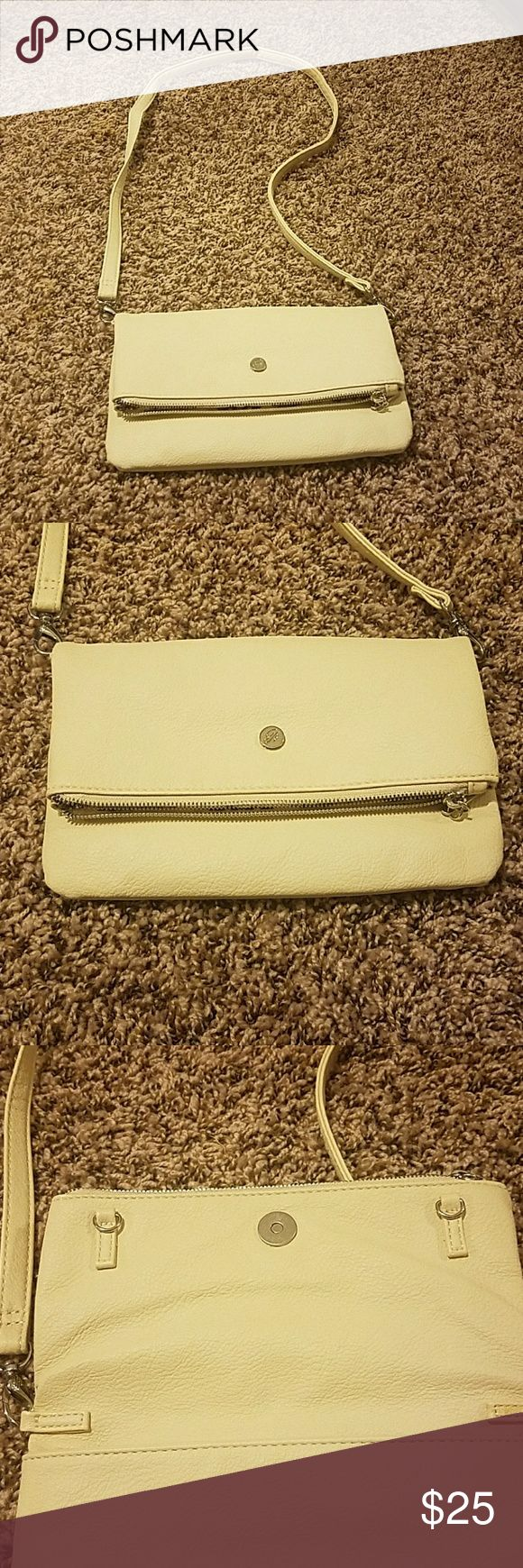 GRACE ADELE - CLAIRE CLUTCH Cross body purse or clutch ,could be purse. Never used grace adele Bags Crossbody Bags