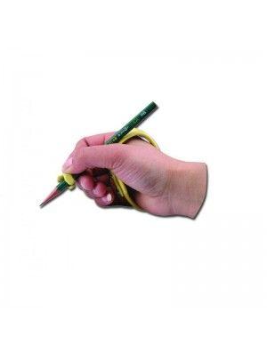Impugnafacile modellabile Ausilio in alluminio modellabile, adatto a supportare l'indice ed il palmo della mano nelle operazioni di scrittura.