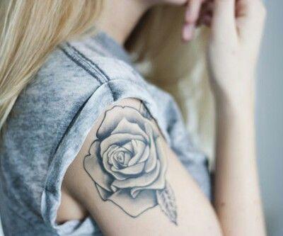 #rose #tattoo #flower #girly #tattoos #ink