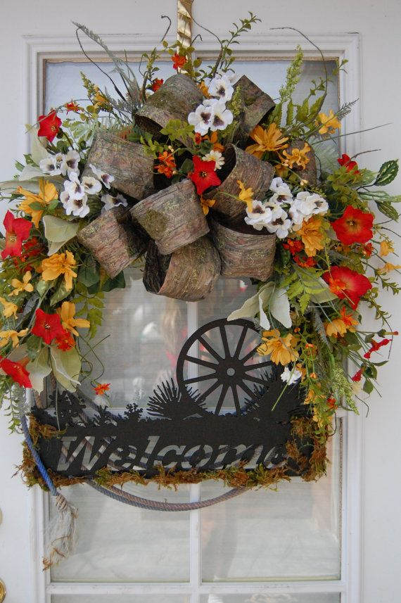 Western Wreath by HangingTouches on Etsy, $139.00