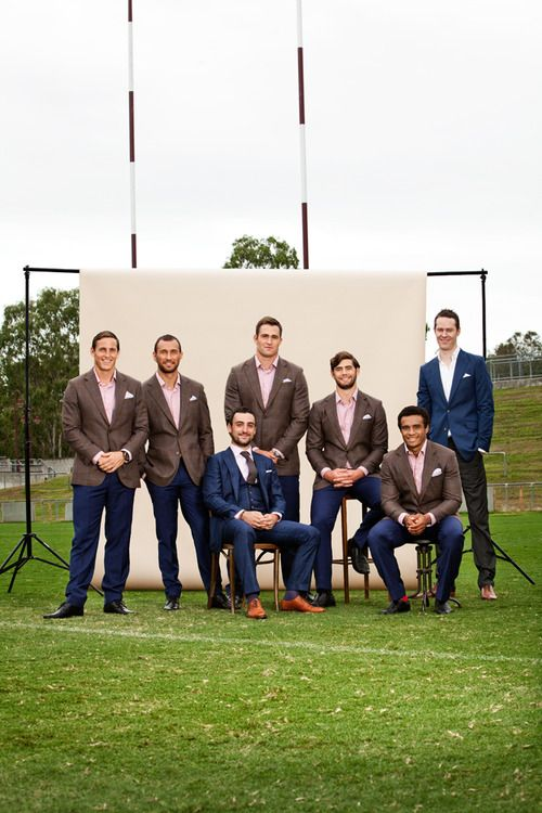 Looking good, #wedding gents! #Groomsmen