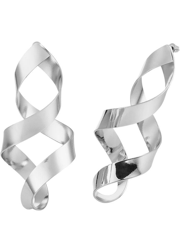 Bekijk nu:Elegant, cool én trendy! Deze oorbellen in gedraaid design passen bij elke outfit. Casual overdag en stijlvol 's avonds.