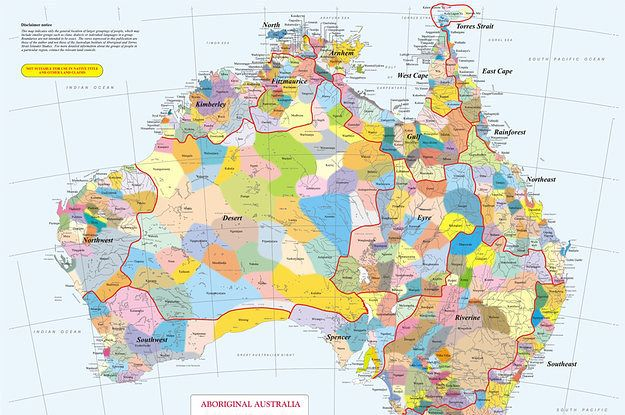"""This Is How """"Unsettled"""" Australia Was Before The British Arrived In 1788"""