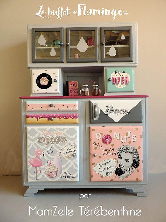 99 best MamZelle Térébenthine images on Pinterest Buffets, Food - moderniser des vieux meubles
