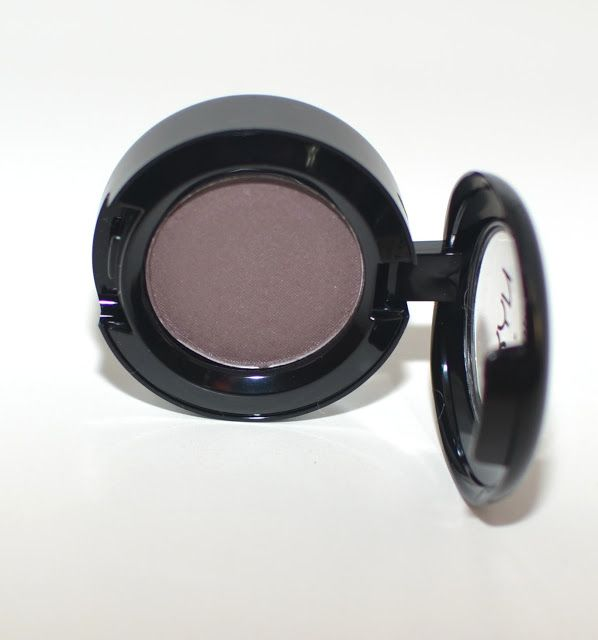 NYX Nude Matte Eyeshadow in Haywire - a unique taupe with a hint of purple