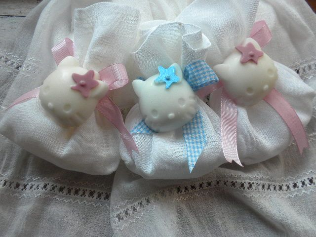 Hello kitty soaps ...for christening! www.facebook.com/sapounospito