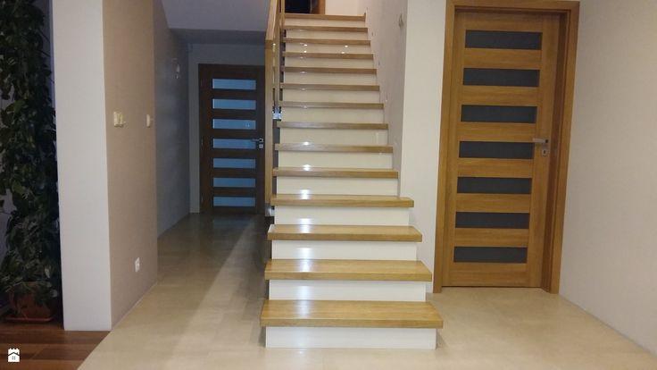 Schody dębowe - zdjęcie od Jarosz-schody - Schody - Styl Nowoczesny - Jarosz-schody
