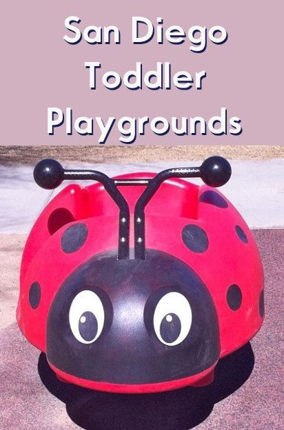 You don't have to visit Legoland or SeaWorld to show your toddler a great time in San Diego - take them to an amazing San Diego toddler playground!