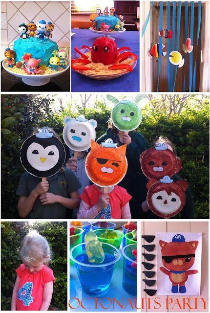 59 best Octonauts birthday party ideas images on Pinterest