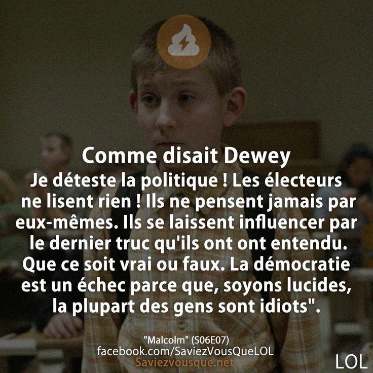 Dewey Président poupipoupipoupidou...