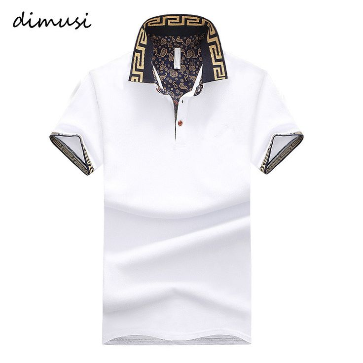 DIMUSI Summer  POLO Shirt Men Cotton Stand Collar Short Sleeve Shirts Camisas Polo Solid. Tops Type: PolosGender: MenBrand Name: DIMUSIPattern Type: SolidType: SlimMaterial: CottonDecoration: NoneSleeve Length(cm): ShortStyle: England StyleColor Style: SolidFeature: Anti-PillingFit: Fits true to size, take your normal size