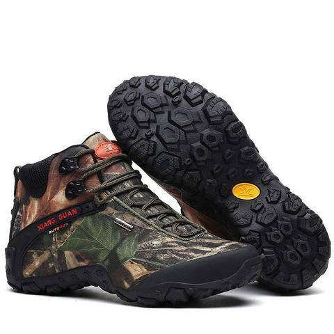 1c3fd43c1f4 XIANG GUAN Mid Hiking Boots Camo - Men's in 2019 | Men's Footwear ...