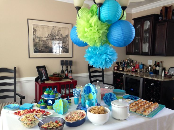baby shower food ideas baby shower ideas ocean theme