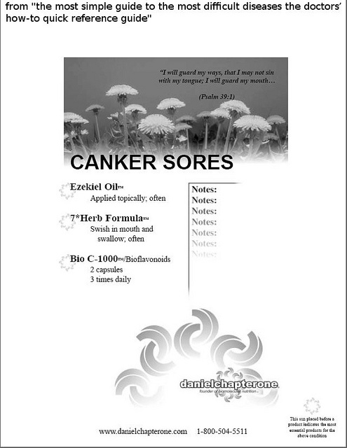 Zilactin B is an over the counter treatment for canker sores and mouth sores. Read the review on Zilactin B to find out if it is any good. http://hsvtype1.com/zilactin-b.html 16 - CANKER SORES