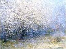 Árboles en flor - Alfredo Helsby