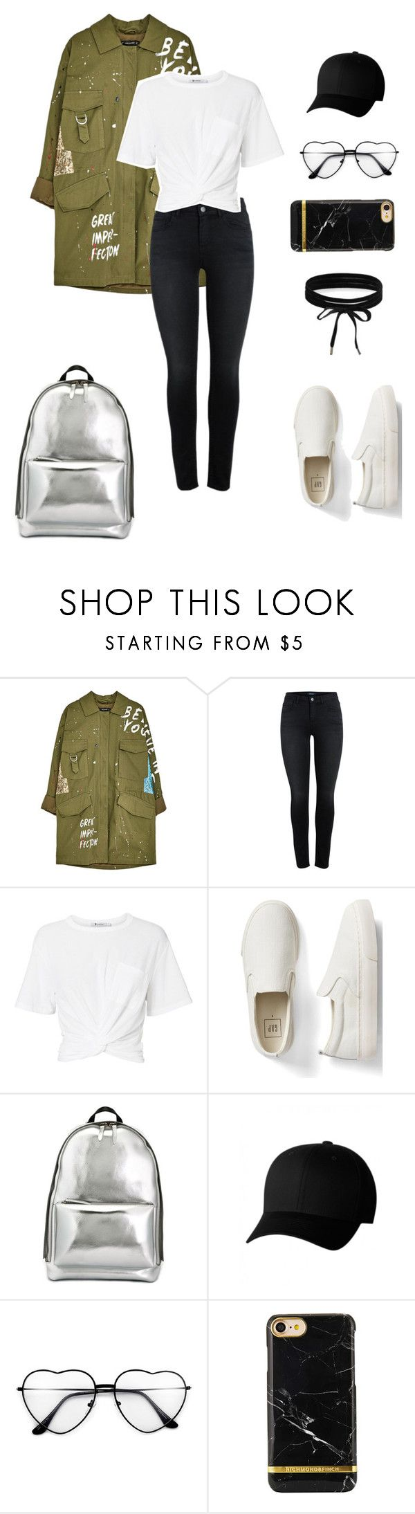 """Untitled #253"" by natalyholly on Polyvore featuring T By Alexander Wang, Gap, 3.1 Phillip Lim, Flexfit and Boohoo"