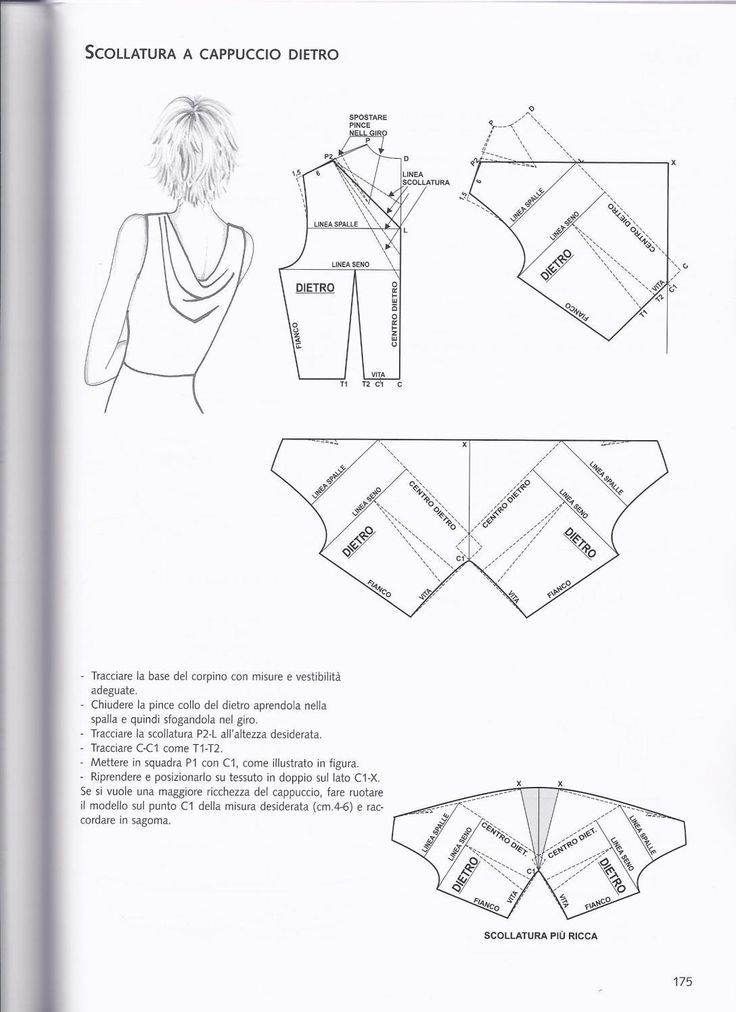 1919 best Schnitte images on Pinterest | Sewing patterns, Vest coat ...