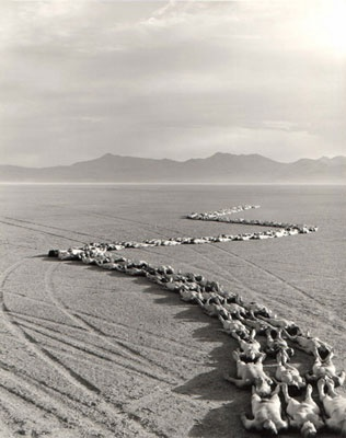 Spencer Tunick. Nevada. This is my favorite photograph of all time.