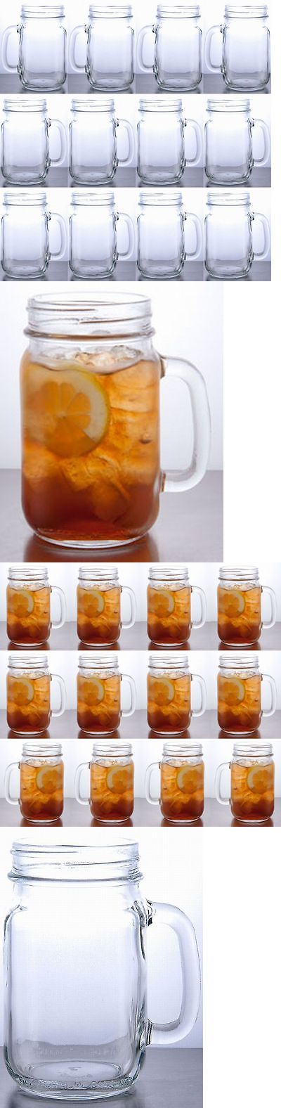 Wedding Supplies 51018: Rustic Bridal Wedding Mason Jars With Handles Wholesale Lot Set 5 Cases 60 Jars -> BUY IT NOW ONLY: $149.95 on eBay!