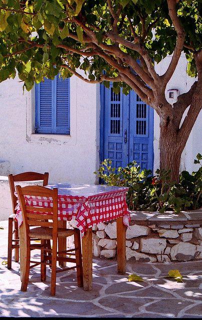 Marpissa, Paros island Greece