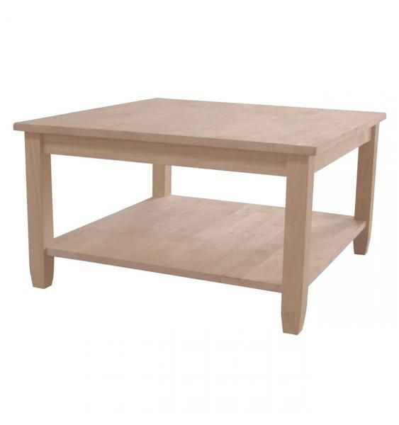 unfinished furniture expo solano square coffee table - 25+ Best Ideas About Square Coffee Tables On Pinterest Coffee