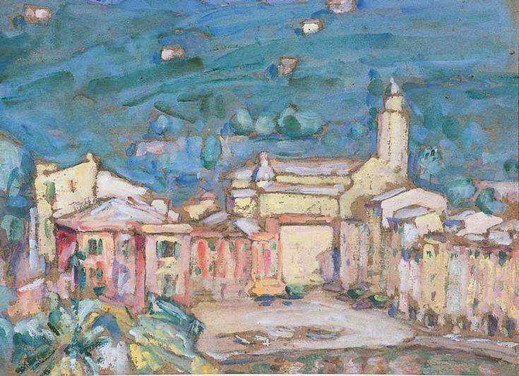 JOHN PETER RUSSELL 1858-1930 PORTOFINO