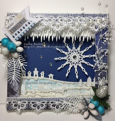 Craft Addicted: A Christmas Challenge!