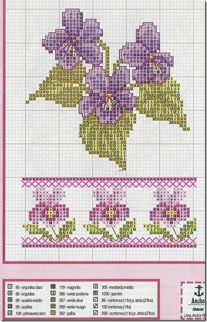 Ponto Cruz-Cross Stitch-Punto Cruz-Punto Croce-Point de Croix-2121