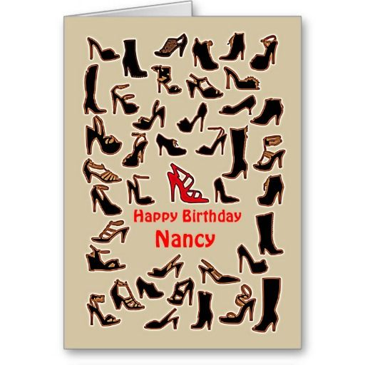 ==> consumer reviews          	Nancy Shoes Happy Birthday Card           	Nancy Shoes Happy Birthday Card online after you search a lot for where to buyDeals          	Nancy Shoes Happy Birthday Card Review on the This website by click the button below...Cleck link More >>> http://www.zazzle.com/nancy_shoes_happy_birthday_card-137611745958173304?rf=238627982471231924&zbar=1&tc=terrest