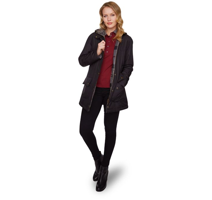 Westhill Reversible Beadnell Jacket from the Winter Tartan collection Barbour Lifestyle