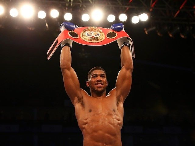 Anthony Joshua to defend IBF world heavyweight title against Dominic Breazeale