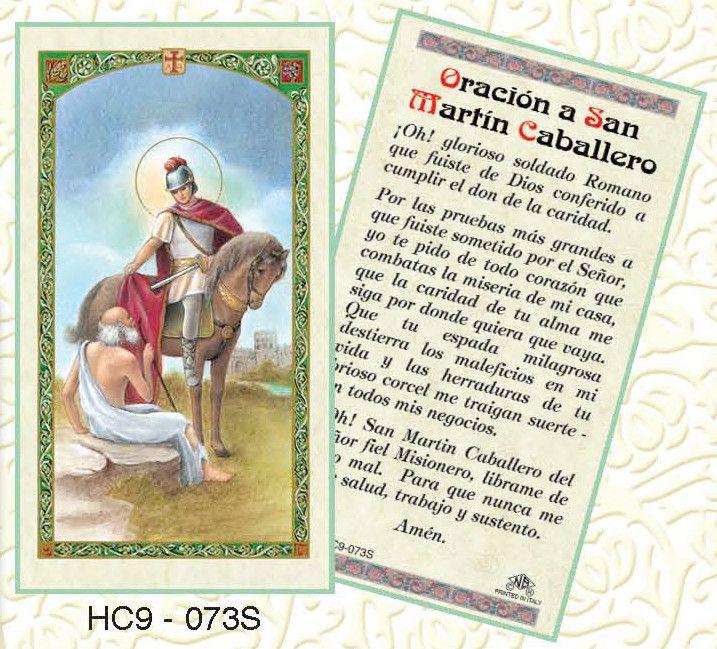 Oracion a San Martin Caballero
